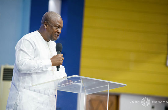 Photo of 4-year imprisonment of pastor who flouted COVID-19 protocol harsh – John Mahama