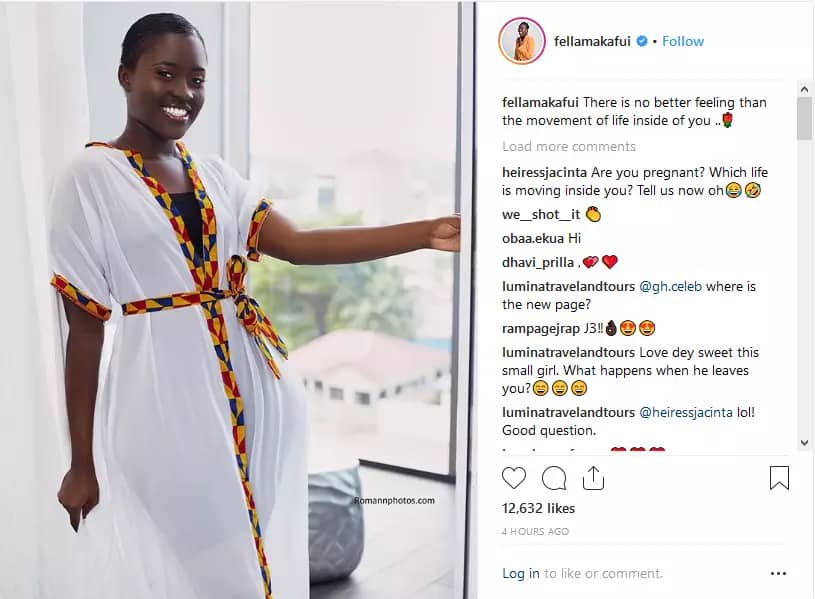 Photo of Fella Makafui has sent the internet into a frenzy with her latest post.