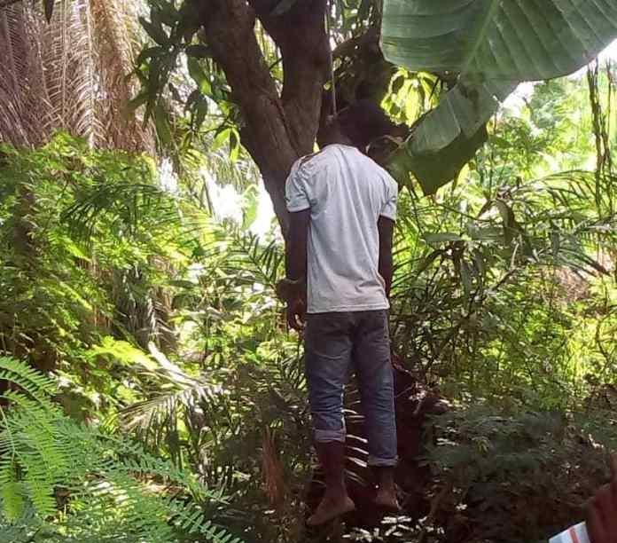 Photo of Male Student of UEW Allegedly commits suicide