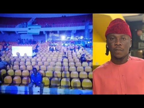Photo of Embarrassing moment of Stonebwoy's career ever:Stonebwoy ZeroBorla concert attended by 15people