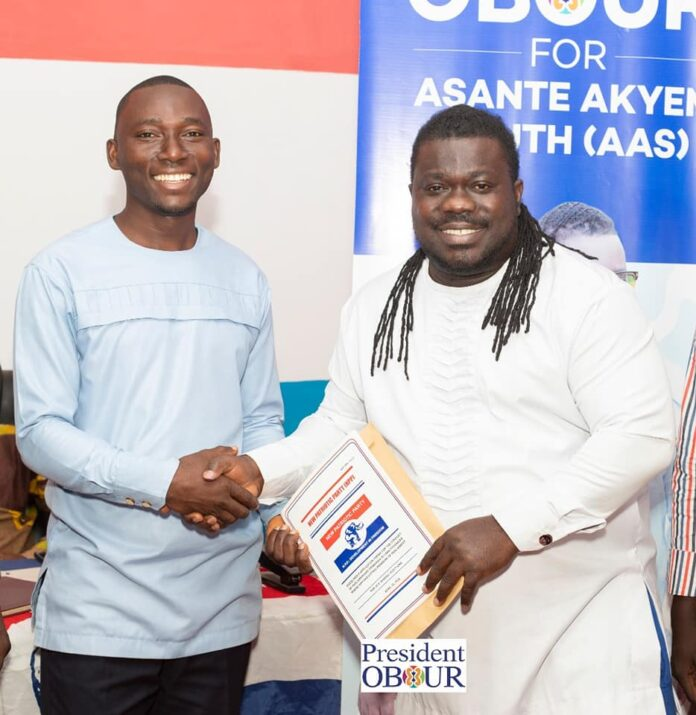Photo of Obour picks forms to contest NPP Asante Akyem South Primaries
