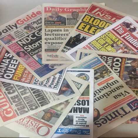 Photo of Ghana Newspaper headlines: June 4, 2020