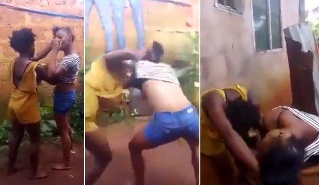 Photo of [HOT VIDEO]: Video of Two Slay Queens Fighting Over One Client Pops Up