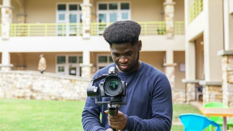 "Photo of Checkout the Young Ghanaian Ashesi Graduate who was the director of photography for Beyonce's ""Black is king""Album"