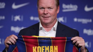 Photo of Koeman's warning about Barcelona's ageing squad