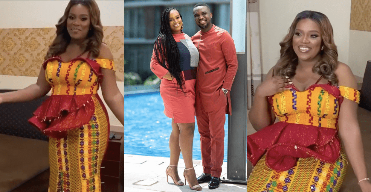 Photo of Joe Mettle's Traditional Marriage Ceremony; Checkout his wife 'Salasie' looking all stunning in Traditional Gown [VIDEO]