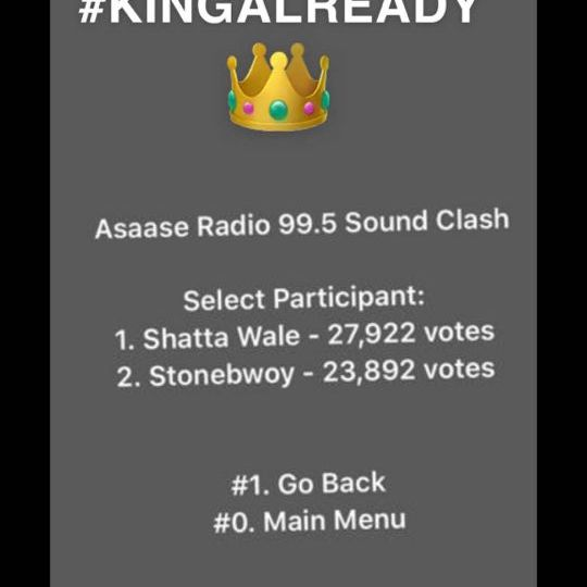 Shatta Wale drops from the Upcoming Asaase Radio clash with Stonebwoy