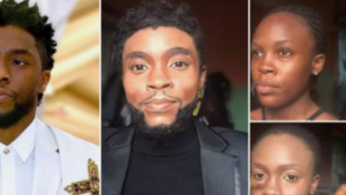 "Photo of AMAZING: Nigerian Make-Up Artist transforms her face into the Late Chadwick Boseman ""Black Panther""; Checkout Photos +VIDEO"