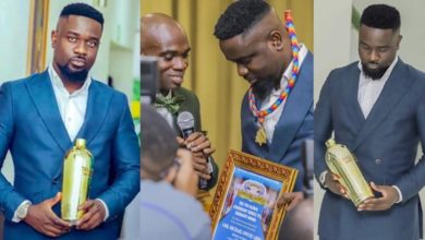 "Photo of Sarkodie reveals what he will do to ""DR UN ""for the Empty flask fake UN Award [ AUDIO ]"