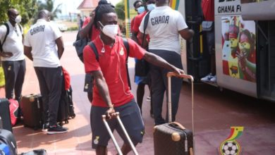 Photo of Black Stars arrive in Cape Coast to continue preparations for Sudan clash on Thursday