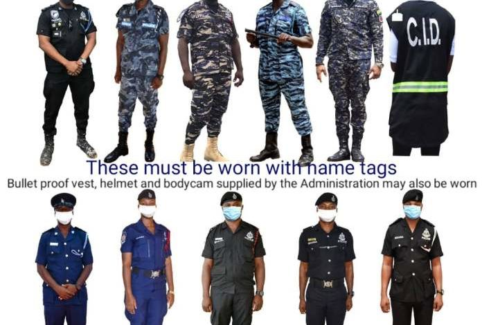 PHOTOS: See the uniforms Police Officers will wear on Election Day