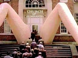 Church Building Which Entrance Looks Like V@gina Sparks Controversy