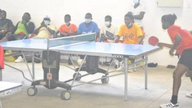 Photo of NK Foundation uses Table Tennis to campaign for peaceful elections