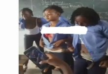 Photo of SHS Girls At It Again! Checkout What They're Caught Doing In Their Classroom – WATCH Video