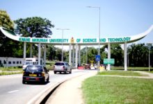 KNUST 2020/2021 Academic Calendar; End of semester exams in April, sem 2 resumes in May